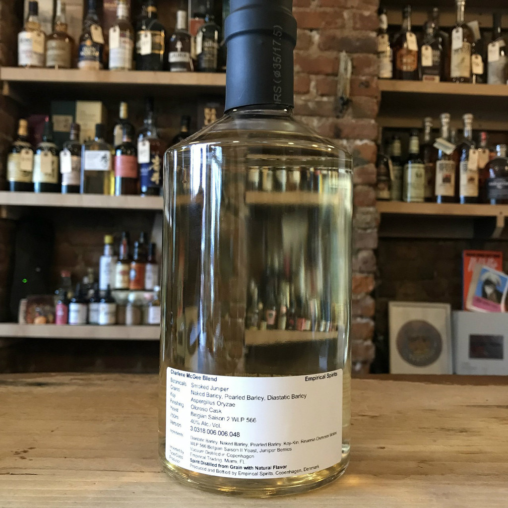 Empirical Spirits, Charlene McGee Blend
