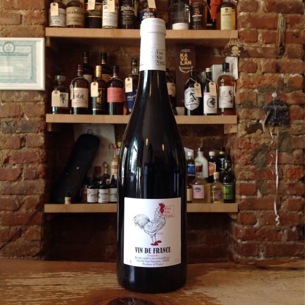 Vini Viti Vinci, Vin De France Grenache (2016)