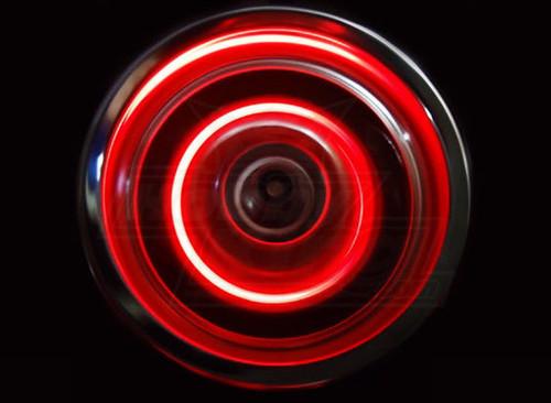 1/10 RC Car Drift LED WHEEL LIGHTS RED L.E.D Rotors Lights