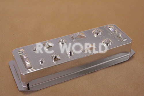 1/10 RC CAR CHROME LIGHT BUCKETS