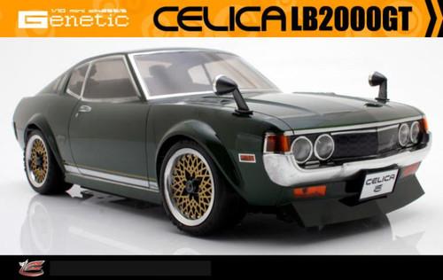 1/12 RC Car Body Shell ABC HOBBY TOYOTA CELICA 2000 LB LiftBack BODY SHELL