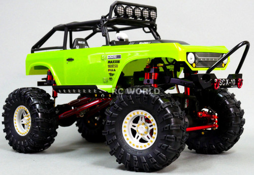 RC 1/10 Truck Wheels 2.2 ROCK CRAWLER Aluminum BEADLOCK Rims W/ Gmade Tires