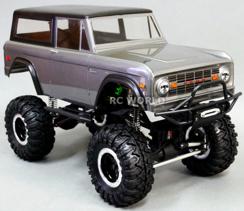 Axial SCX10 Jeep Wraith FRONT BULL NOSE BUMPER w/ WINCH MOUNTS