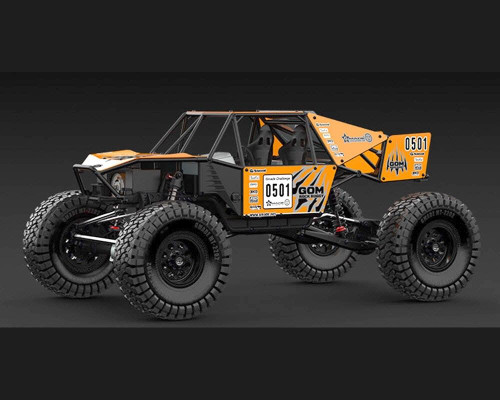 GMADE RC 1/10 Rock Buggy GOM GR01 Rock Crawler *RTR* + 11.1v Lipo Pack GM56010