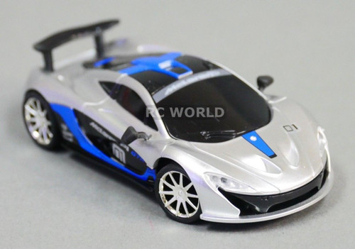 RC 1/43 Radio Control Micro MCLAREAN P1 GTR w/ LED Lights GREEN