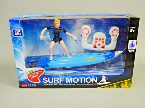 Radio Control RC SURFER 7.4V Twin Motor 2.4GHZ -Ready To Run - BLUE