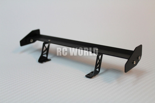 RC 1/10 Car Accessories -METAL Single WING SPOILER 1/10 DRIFT Touring Cars 185mm