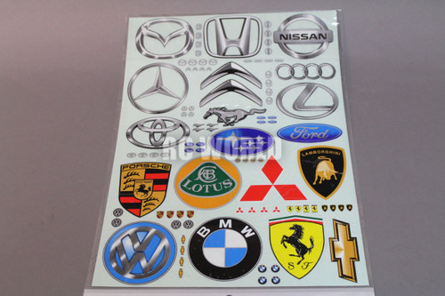 New RC Car Truck RACING Drift DECALS STICKERS Logos Sponsors