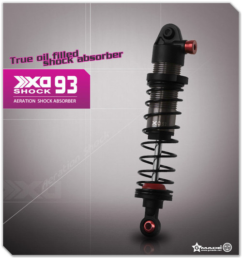 Gmade 1/10 TRUCK Shocks SUSPENSION AERATION Aluminum 93MM #gm21507
