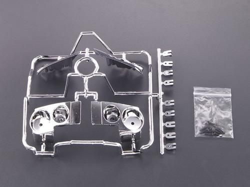1/10 RC Car LIGHT BUCKETS For NISSAN GT-R SKYLINE R35 Chrome Plated