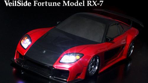 1/10 RC Car Body Shell MAZDA RX-7 RX7 VEILSIDE FORTUNE Drift BODY SHELL