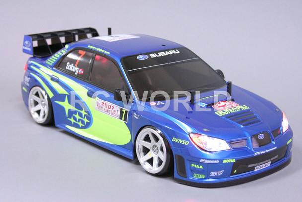 1/10 RC Car  LIGHT BUCKETS For SUBARU IMPREZA WRC WRX STI Chrome Plated