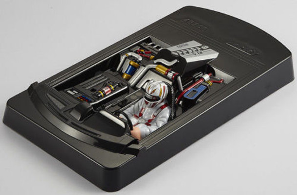 1/10 INTERIOR COCKPIT DRIVER REAR MID ENGINE For Rc Car Body Shells