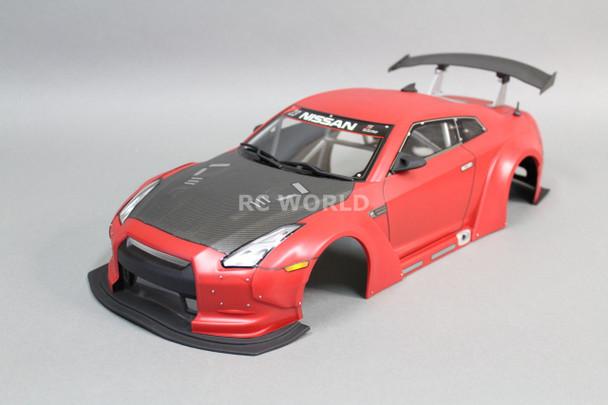 1/10 RC Car DRIFT Body Shell NISSAN GT-R NISMO w/ WIDE BODY KIT 200MM Body Shell
