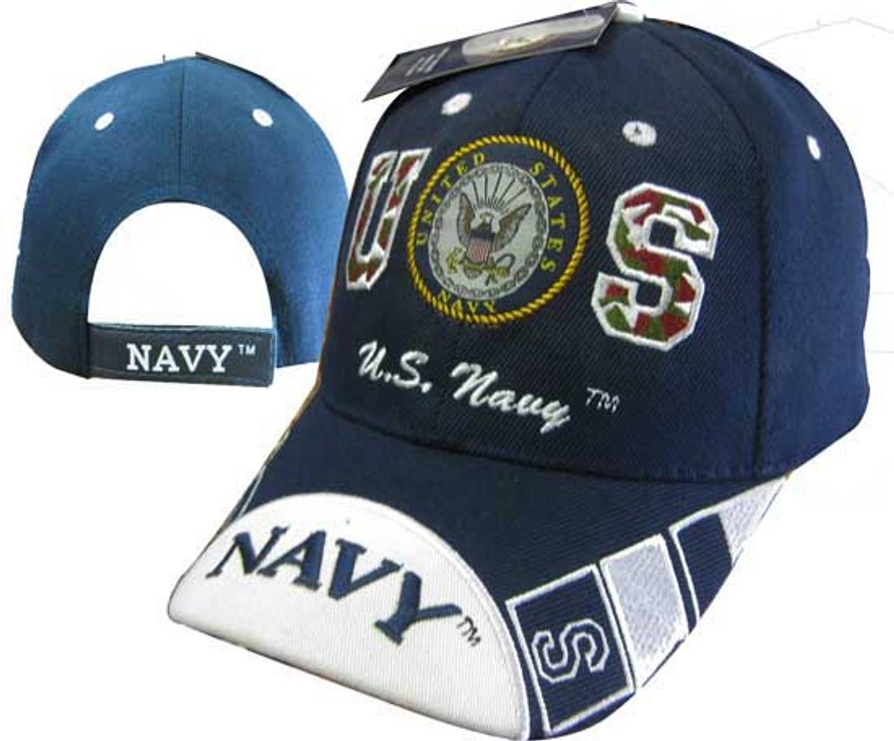 ... australia u.s. navy officially licensed with seal navy logo on bill baseball  cap hat 55cb5 989f0 d6901662efae