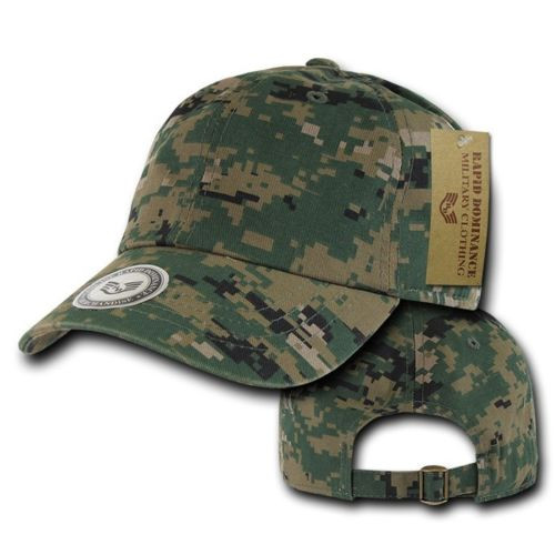 Universal Digital Camouflage Army Washed Cotton Polo Baseball Ball Cap Hat 29ad3d715d2
