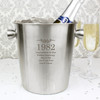 Personalised Stainless Steel Champagne Bucket
