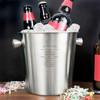 Personalised Stainless Steel Beer Bucket