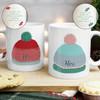 Personalised His & Hers Mug Set