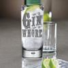 Funny Gin & Tonic Highball Glass