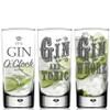 Novelty Gin Glasses