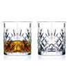 Classic Cut Crystal Whisky Glasses