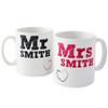 Personalised MR & MRS Mug's
