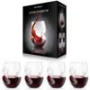 Aerating Red Wine Glasses