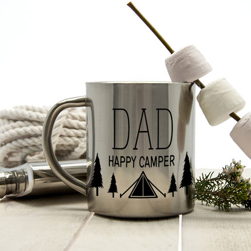Camping Mug for Dad - Happy Camper