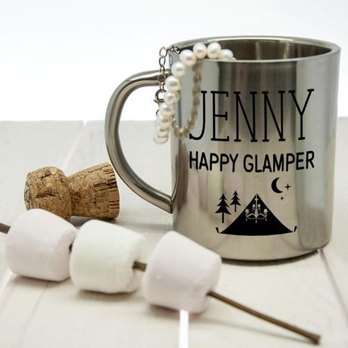 Personalised Glamping Mug
