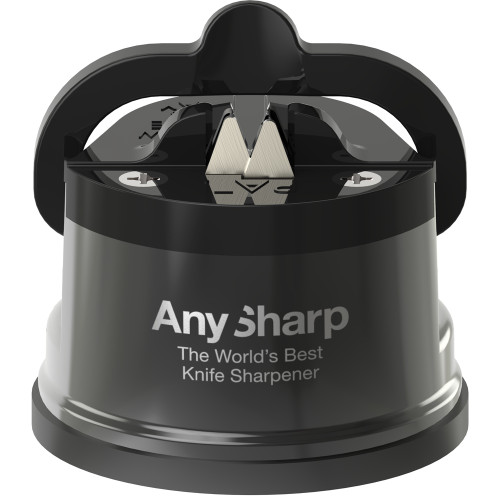 AnySharp Pro Chef Metallic Grey Knife Sharpener