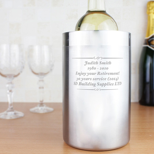 Personalised Wine Cooler