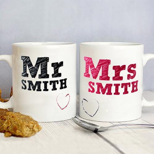 MR & MRS Mug's