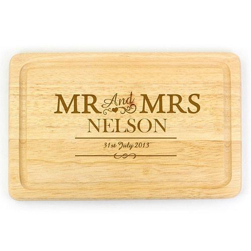 Personalised Rectangular Chopping Board