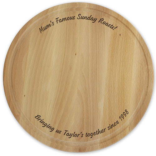 Large Round Chopping Board