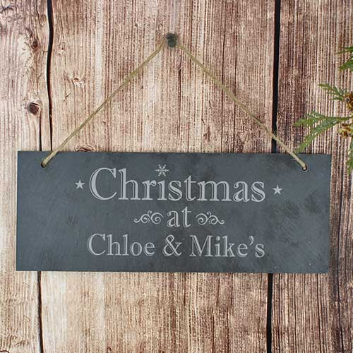 Christmas Door Plaque
