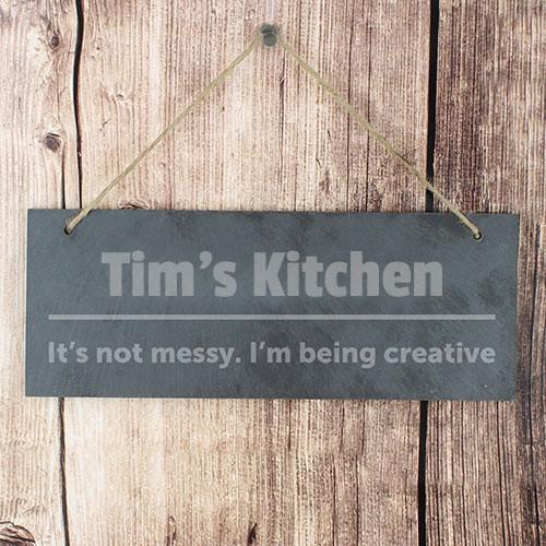 Personalise Door Plaque