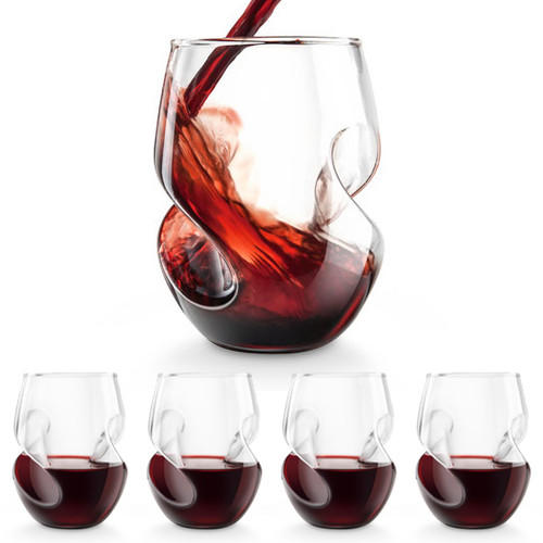 Aerating Wine Glasses