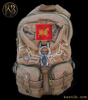 Atomic Slug Backpack - Caesars Legion Edition Fallout New Vegas