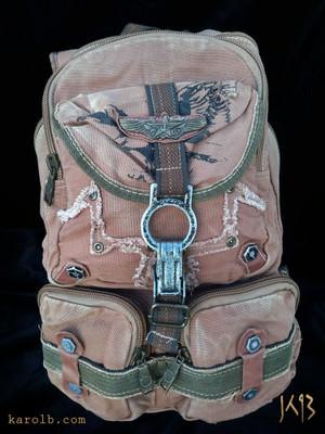 Atomic Slug Backpack - Khaki