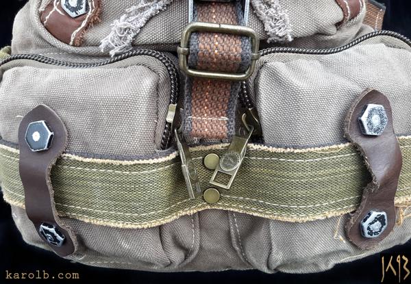 Atomic Slug Backpack - Olive