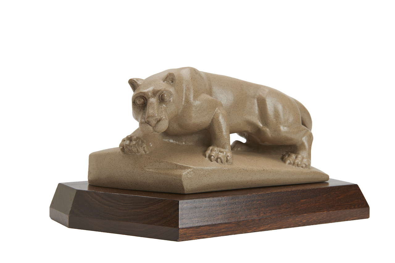 Penn State Elms Collection Official Nittany Lion Statue on Elm Wood ...