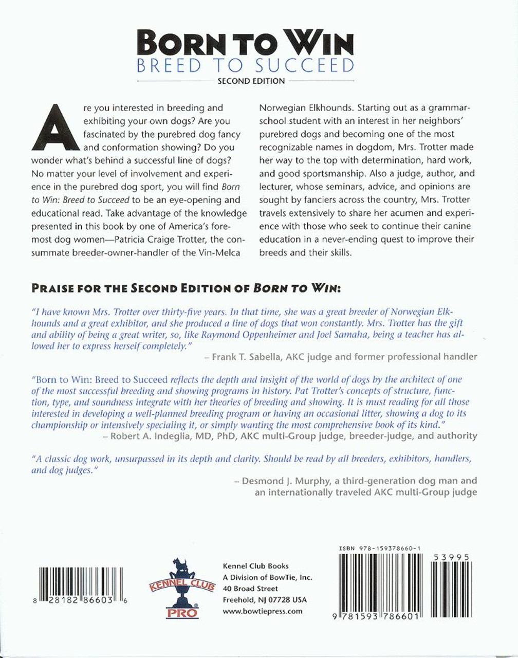 Ebook born to win breed to succeed 2nd edition dogwise previous fandeluxe Images
