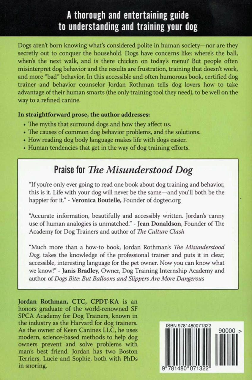 Ebook the misunderstood dog break free of the myths about mans ebook the misunderstood dog break free of the myths about mans best friend and learn how to train your dog with facts not fiction dogwise fandeluxe Images
