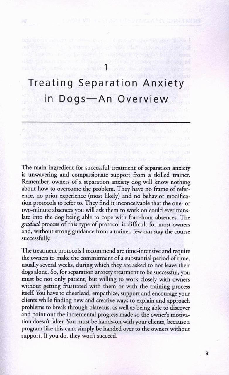 Ebook Treating Separation Anxiety In Dogs Dogwise