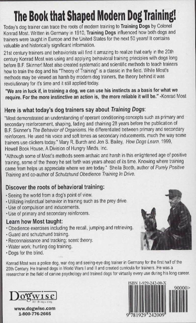 Training dogs a manual reprint dogwise previous fandeluxe Image collections