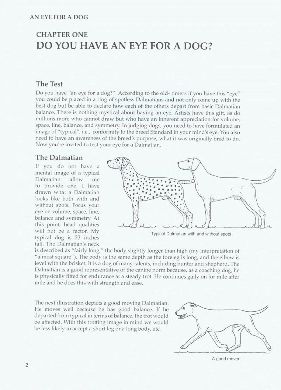 An Eye for A Dog - Illustrated Guide To Judging Purebred Dogs - Dogwise