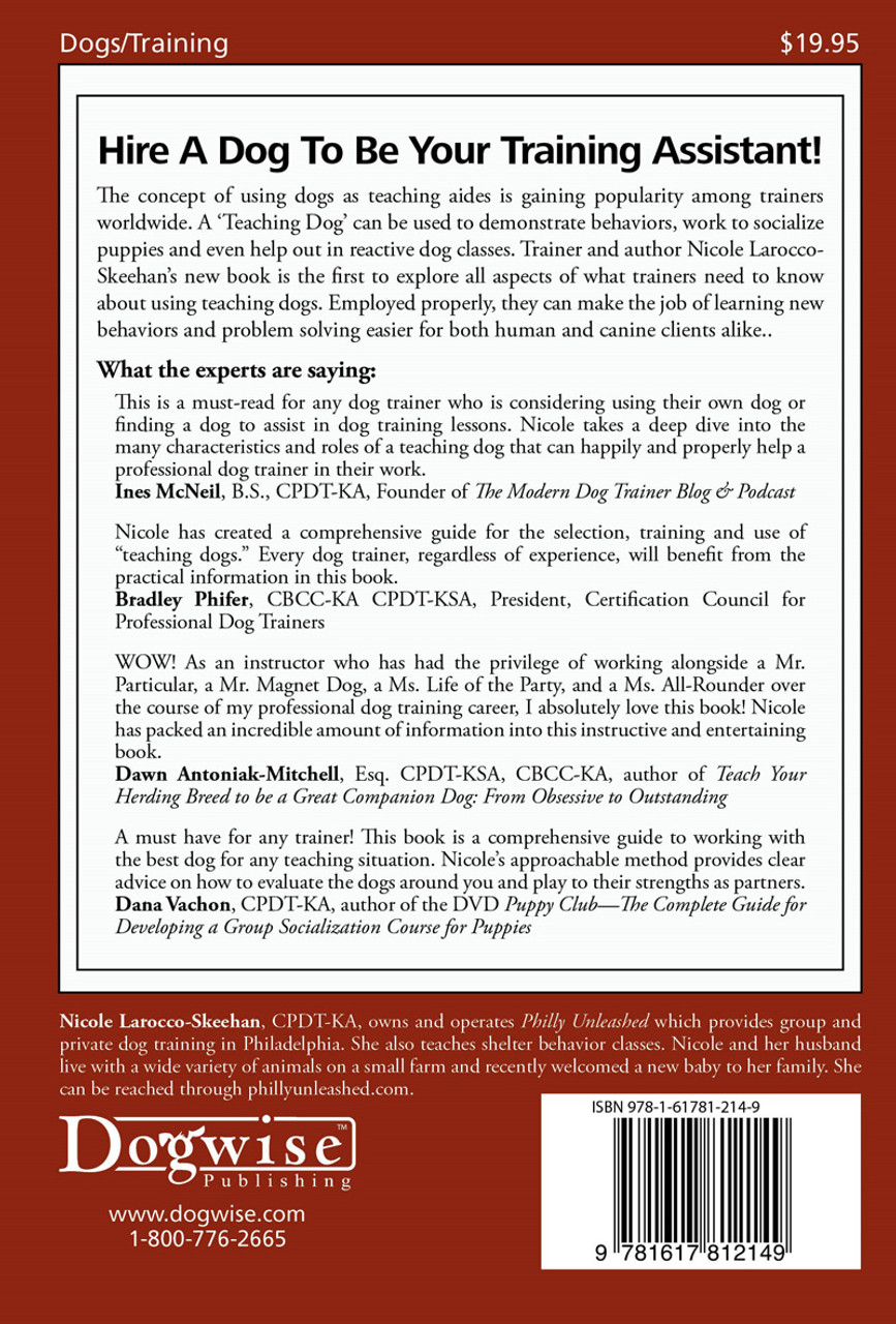 Ebook The Teaching Dog Partnering With Dogs For Instruction