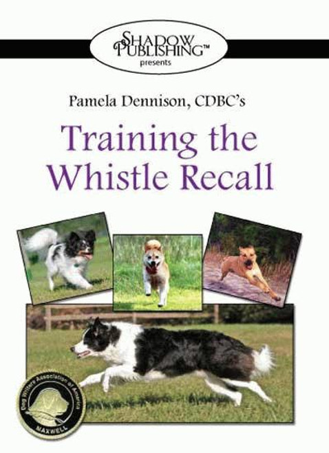 Training The Whistle Recall Dvd - With Whistle & Lanyard