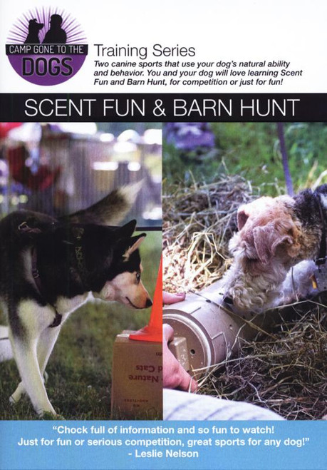 Scent Fun & Barn Hunt Dvd